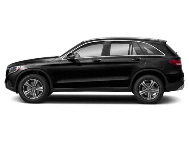 Obsidian Black Metallic 2019 Mercedes-Benz GLC Pictures GLC GLC 300 4MATIC SUV photos side view