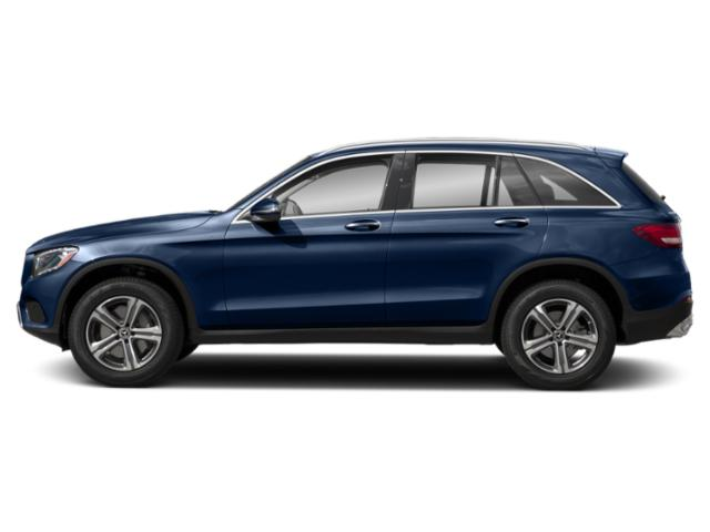 Brilliant Blue Metallic 2019 Mercedes-Benz GLC Pictures GLC GLC 300 4MATIC SUV photos side view