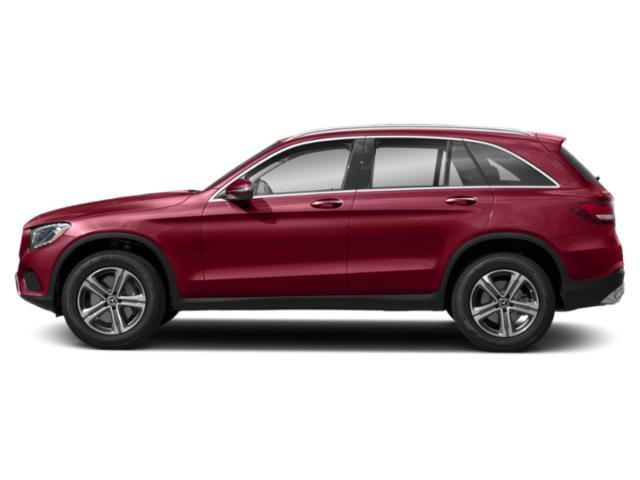designo Cardinal Red Metallic 2019 Mercedes-Benz GLC Pictures GLC GLC 300 4MATIC SUV photos side view