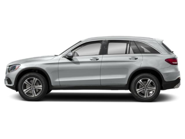 Mojave Silver Metallic 2019 Mercedes-Benz GLC Pictures GLC GLC 300 4MATIC SUV photos side view