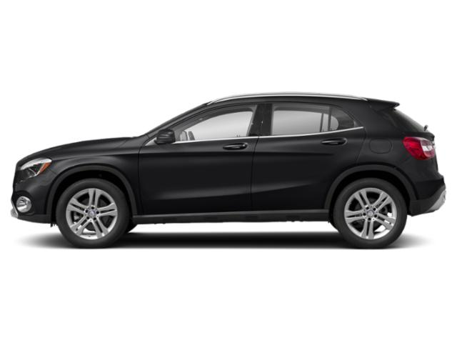 Night Black 2019 Mercedes-Benz GLA Pictures GLA GLA 250 4MATIC SUV photos side view
