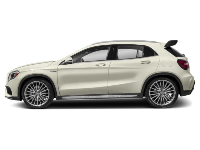 Polar White 2019 Mercedes-Benz GLA Pictures GLA AMG GLA 45 4MATIC SUV photos side view