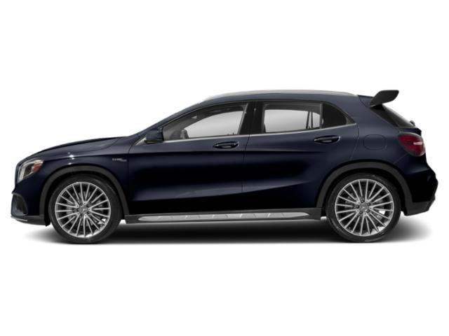 Lunar Blue Metallic 2019 Mercedes-Benz GLA Pictures GLA AMG GLA 45 4MATIC SUV photos side view