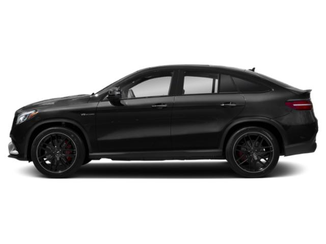Obsidian Black Metallic 2019 Mercedes-Benz GLE Pictures GLE AMG GLE 63 S 4MATIC Coupe photos side view