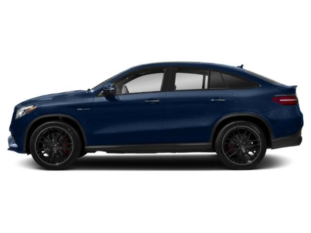 Brilliant Blue Metallic 2019 Mercedes-Benz GLE Pictures GLE AMG GLE 63 S 4MATIC Coupe photos side view