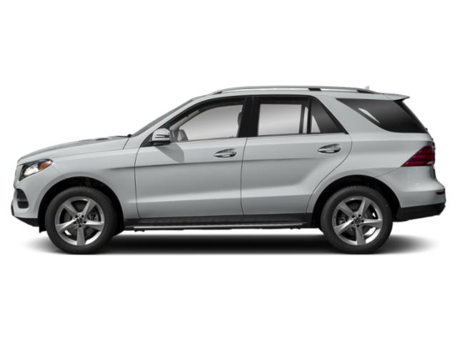 Iridium Silver Metallic 2019 Mercedes-Benz GLE Pictures GLE GLE 400 4MATIC SUV photos side view