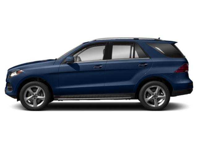 Brilliant Blue Metallic 2019 Mercedes-Benz GLE Pictures GLE GLE 400 4MATIC SUV photos side view
