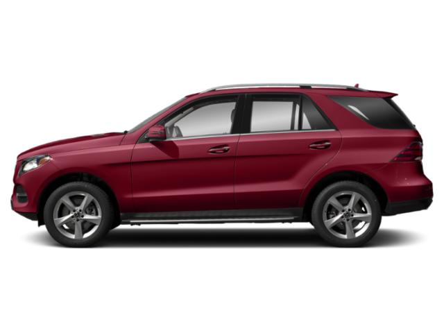 designo Cardinal Red Metallic 2019 Mercedes-Benz GLE Pictures GLE GLE 400 4MATIC SUV photos side view