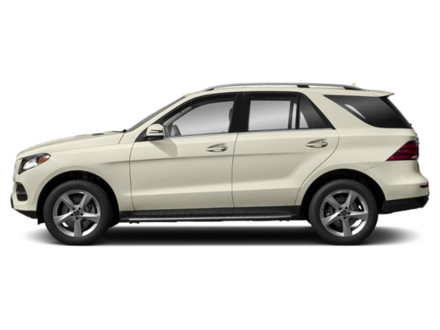 designo Diamond White Metallic 2019 Mercedes-Benz GLE Pictures GLE GLE 400 4MATIC SUV photos side view