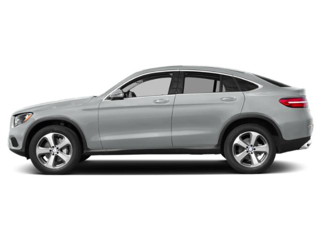 Iridium Silver Metallic 2019 Mercedes-Benz GLC Pictures GLC AMG GLC 43 4MATIC Coupe photos side view