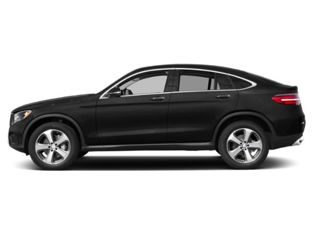 Obsidian Black Metallic 2019 Mercedes-Benz GLC Pictures GLC GLC 300 4MATIC Coupe photos side view