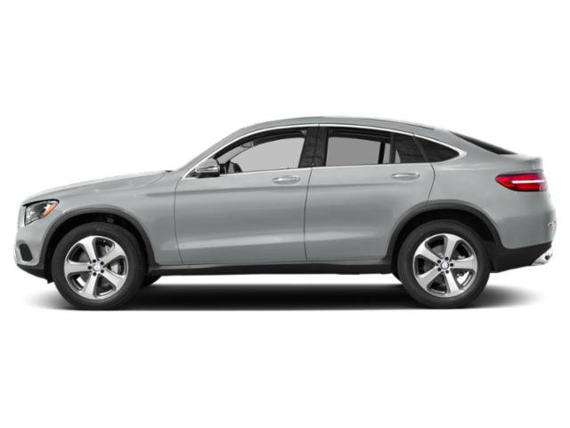 Iridium Silver Metallic 2019 Mercedes-Benz GLC Pictures GLC GLC 300 4MATIC Coupe photos side view