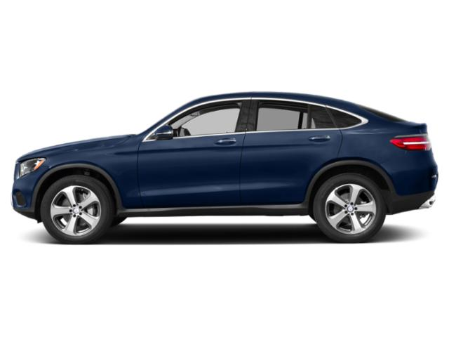 Brilliant Blue Metallic 2019 Mercedes-Benz GLC Pictures GLC GLC 300 4MATIC Coupe photos side view