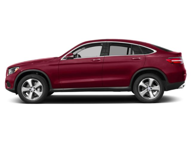 designo Cardinal Red Metallic 2019 Mercedes-Benz GLC Pictures GLC GLC 300 4MATIC Coupe photos side view