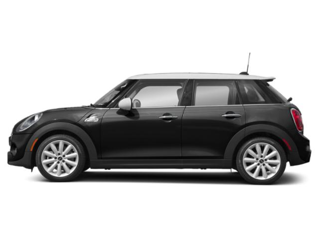 Midnight Black Metallic 2019 MINI Hardtop 4 Door Pictures Hardtop 4 Door Cooper FWD photos side view