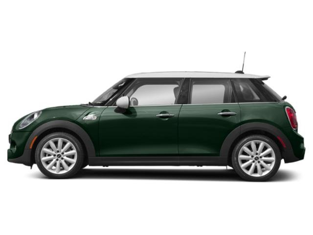 British Racing Green Metallic 2019 MINI Hardtop 4 Door Pictures Hardtop 4 Door Cooper FWD photos side view