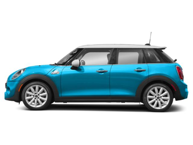 Electric Blue Metallic 2019 MINI Hardtop 4 Door Pictures Hardtop 4 Door Cooper FWD photos side view