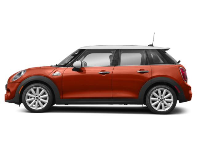 Solaris Orange Metallic 2019 MINI Hardtop 4 Door Pictures Hardtop 4 Door Cooper FWD photos side view
