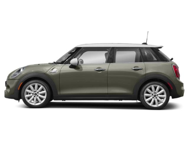 Emerald Grey Metallic 2019 MINI Hardtop 4 Door Pictures Hardtop 4 Door Cooper FWD photos side view