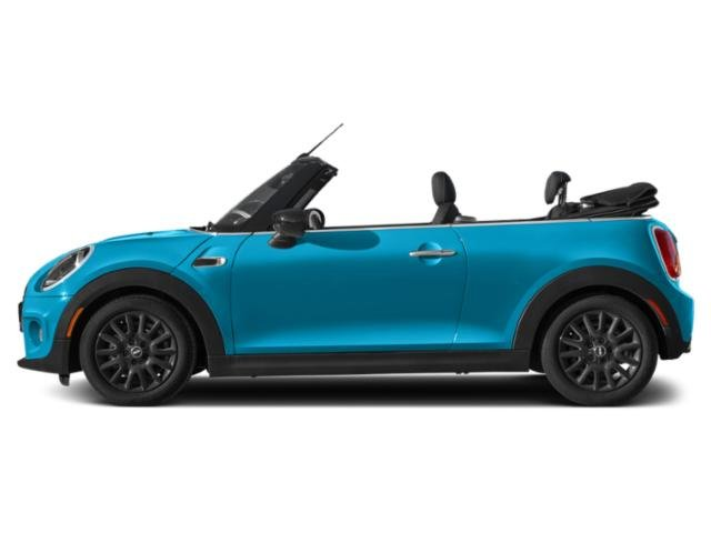 Electric Blue Metallic 2019 MINI Convertible Pictures Convertible Cooper FWD photos side view
