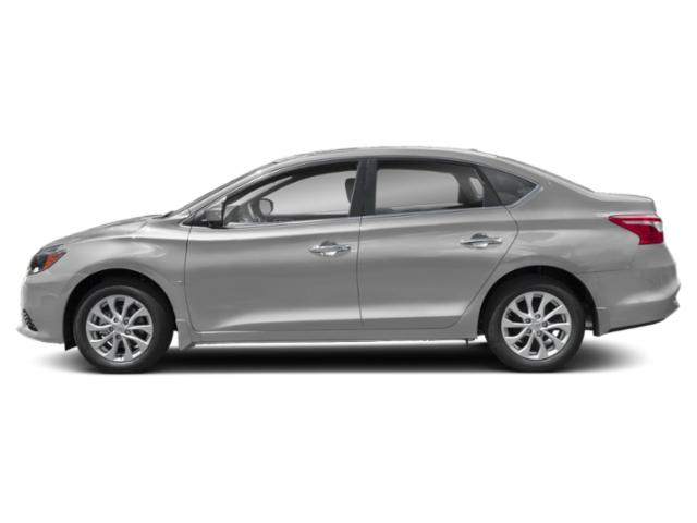Brilliant Silver Metallic 2019 Nissan Sentra Pictures Sentra SL CVT photos side view