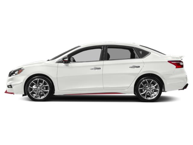 Aspen White Tricoat 2019 Nissan Sentra Pictures Sentra NISMO Manual photos side view
