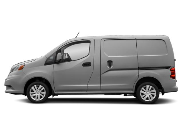 Brilliant Silver Metallic 2019 Nissan NV200 Compact Cargo Pictures NV200 Compact Cargo I4 S photos side view