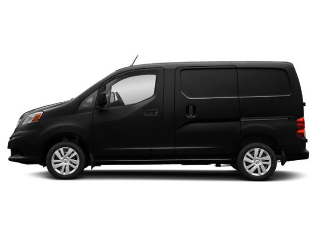 Super Black 2019 Nissan NV200 Compact Cargo Pictures NV200 Compact Cargo I4 S photos side view