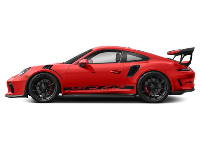 Lava Orange 2019 Porsche 911 Pictures 911 GT3 RS Coupe photos side view
