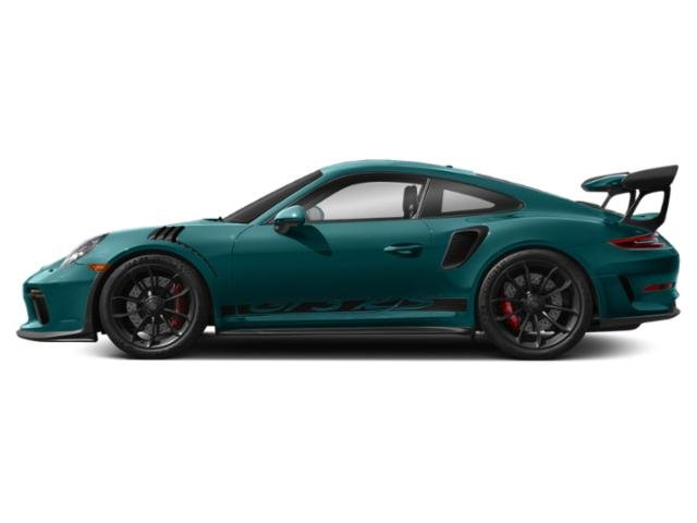 Miami Blue 2019 Porsche 911 Pictures 911 GT3 RS Coupe photos side view