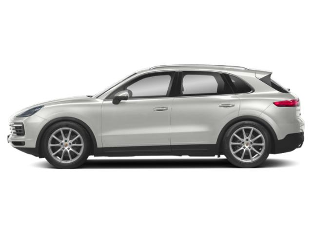 White 2019 Porsche Cayenne Pictures Cayenne Turbo AWD photos side view