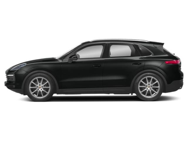 Jet Black Metallic 2019 Porsche Cayenne Pictures Cayenne Turbo AWD photos side view