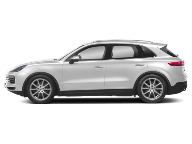 Carrara White Metallic 2019 Porsche Cayenne Pictures Cayenne Turbo AWD photos side view
