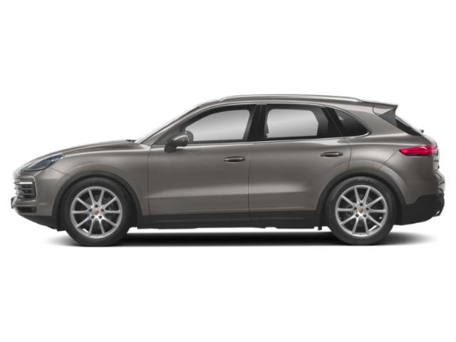 Palladium Metallic 2019 Porsche Cayenne Pictures Cayenne Turbo AWD photos side view