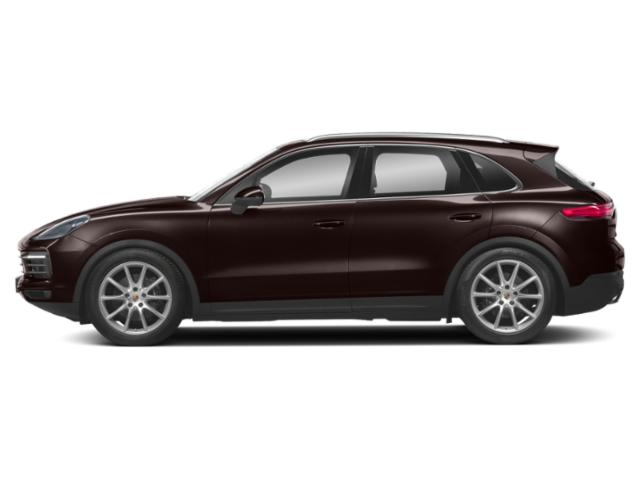 Mahogany Metallic 2019 Porsche Cayenne Pictures Cayenne Turbo AWD photos side view