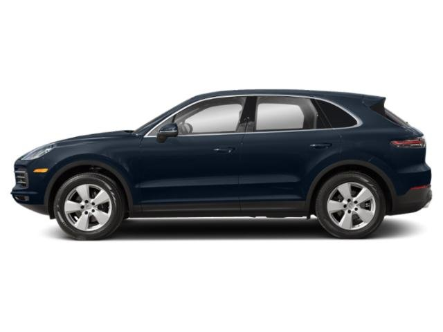 Moonlight Blue Metallic 2019 Porsche Cayenne Pictures Cayenne Turbo AWD photos side view
