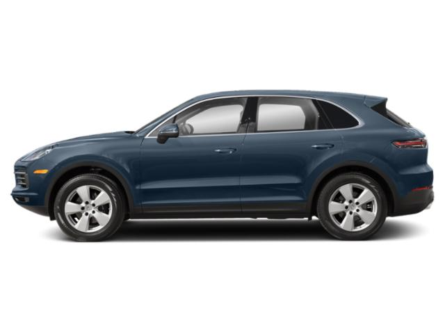 Biscay Blue Metallic 2019 Porsche Cayenne Pictures Cayenne Turbo AWD photos side view