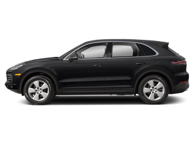 Black 2019 Porsche Cayenne Pictures Cayenne Turbo AWD photos side view