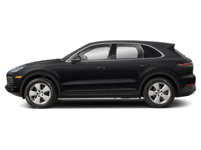 Black 2019 Porsche Cayenne Pictures Cayenne AWD photos side view