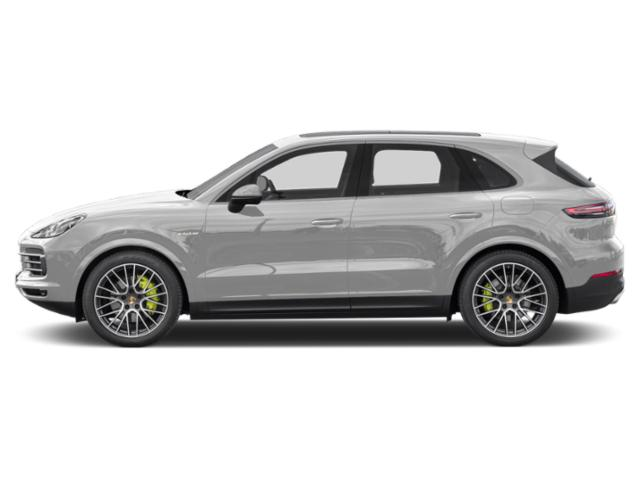Carrara White Metallic 2019 Porsche Cayenne Pictures Cayenne E-Hybrid AWD photos side view