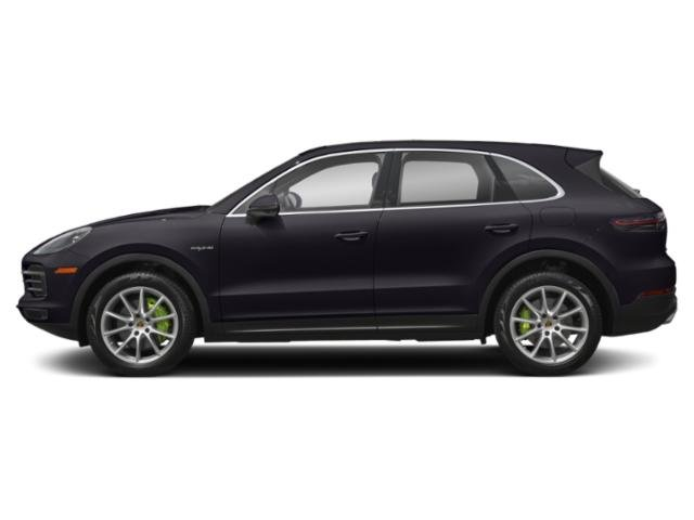 Quartzite Metallic 2019 Porsche Cayenne Pictures Cayenne E-Hybrid AWD photos side view