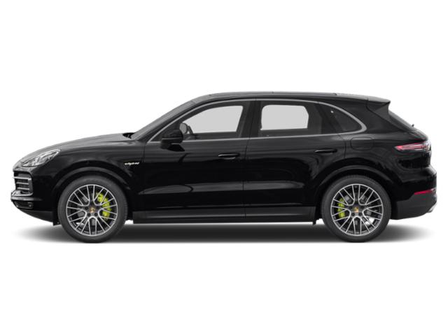 Black 2019 Porsche Cayenne Pictures Cayenne E-Hybrid AWD photos side view