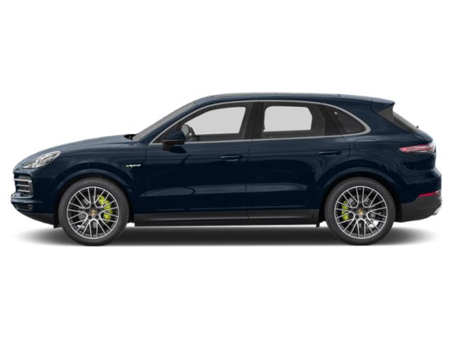 Moonlight Blue Metallic 2019 Porsche Cayenne Pictures Cayenne E-Hybrid AWD photos side view
