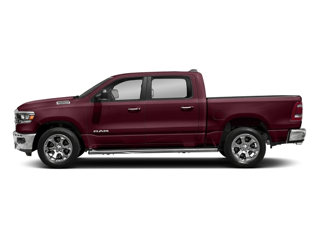 Delmonico Red Pearlcoat 2019 Ram Truck 1500 Pictures 1500 Laramie 4x2 Crew Cab 6'4 Box photos side view