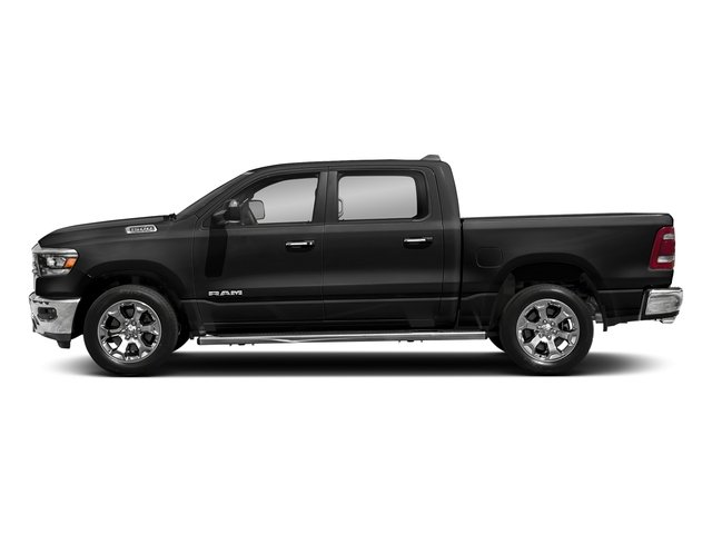 Diamond Black Crystal Pearlcoat 2019 Ram Truck 1500 Pictures 1500 Laramie 4x2 Crew Cab 6'4 Box photos side view