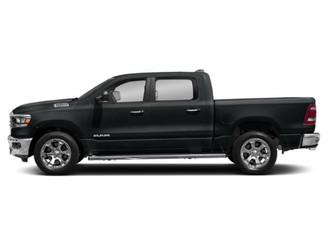 Maximum Steel Metallic Clearcoat 2019 Ram Truck 1500 Pictures 1500 Tradesman 4x4 Crew Cab 6'4 Box photos side view