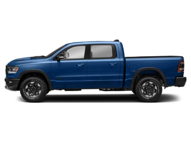 Blue Streak Pearlcoat 2019 Ram Truck 1500 Pictures 1500 Tradesman 4x4 Crew Cab 6'4 Box photos side view