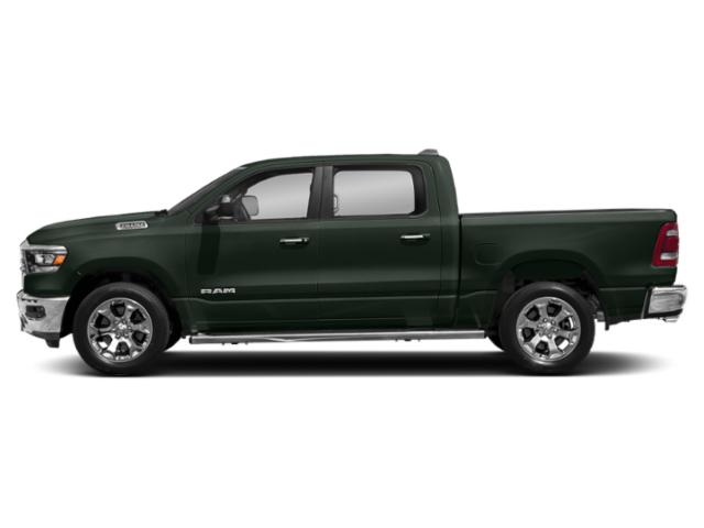 Black Forest Green Pearlcoat 2019 Ram Truck 1500 Pictures 1500 Tradesman 4x4 Crew Cab 6'4 Box photos side view