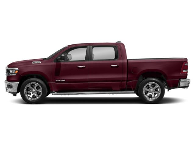 Delmonico Red Pearlcoat 2019 Ram Truck 1500 Pictures 1500 Tradesman 4x4 Crew Cab 6'4 Box photos side view