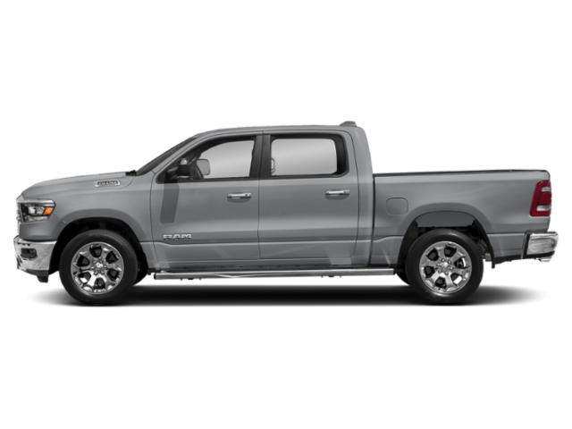 Billet Silver Metallic Clearcoat 2019 Ram Truck 1500 Pictures 1500 Tradesman 4x4 Crew Cab 6'4 Box photos side view